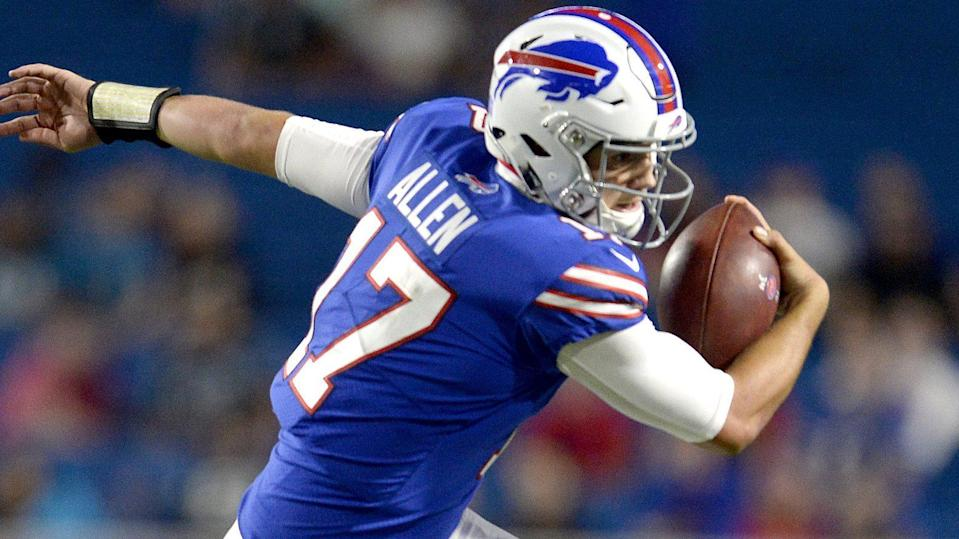 Jalen Ramsey offered his candid opinions on a good number of the league's quarterbacks in an interview with GQ, including Bills first-round pick Josh Allen. (AP)