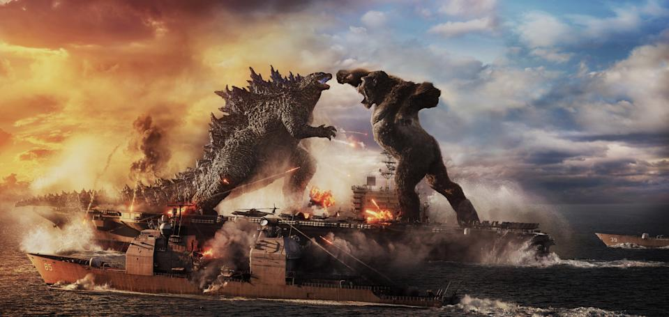 Godzilla vs Kong did well in cinemas despite also being available on HBO MaxCourtesy of Warner Bros. Pictures