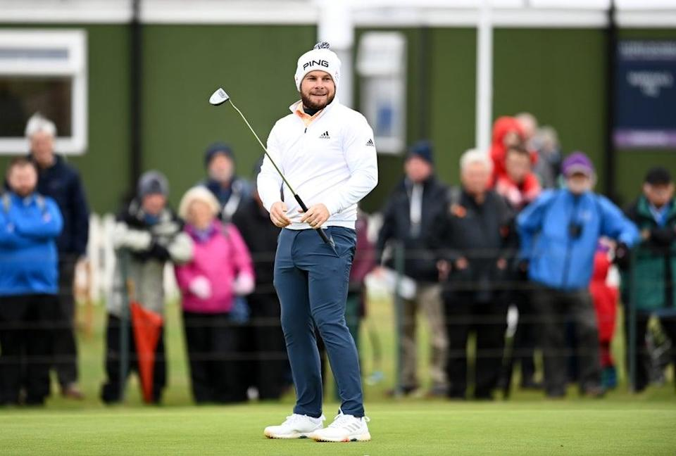 Tyrrell Hatton fired a 70 at Kingsbarns (Malcolm Mackenzie/PA) (PA Wire)