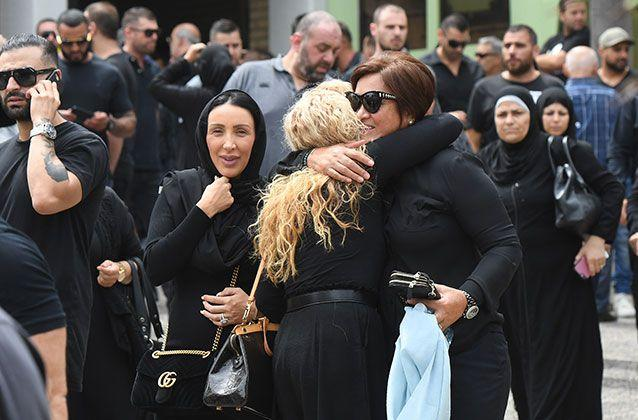 Mourners Leave After The Funeral Source Aap