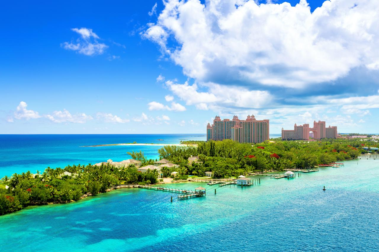 <p>Rank 15. The Bahamas – 3.8 annual tourists per resident </p>