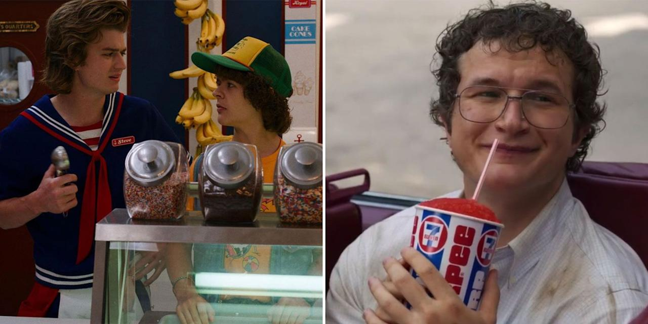 <p>**If you haven't binged season three of <em>Stranger Things </em>yet, proceed with caution, as minor spoilers are to come. But also, season three was FANTASTIC, so what are you waiting for?!!** </p><p>Ok, now what we're really here for: Beyond all the mind flayer hunting and budding relationships, season three is essentially an ode to 80s food—inside the Starcourt Mall food court and beyond. Below, all the subtle—and not so subtle, @Coca Cola—nostalgic references, plus a few ways to recreate the magic at home when you inevitably binge the show in full again.</p>