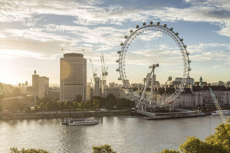 <p>Over in the city's capital, the London Eye took the third spot, with 26% of the vote. Providing spectacular wrap-around views of the bustling city, it offers some of the best sights across London.</p>