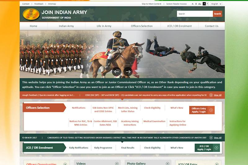 Indian Army Recruitment 2018: 40 Engineering Graduate Posts, Apply before 16thMay 2018