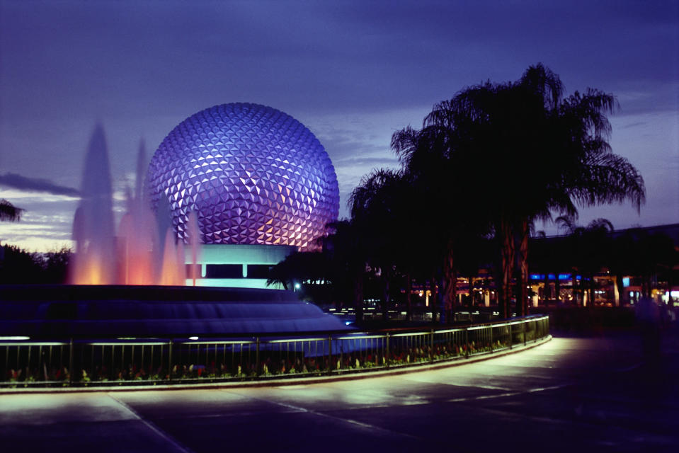 Epcot Center at Disney World in Orlando, Fla. (Photo: Getty Images)