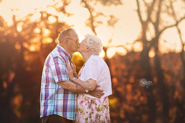 Rosie, 85, and Bill, 87, have been married for more than six decades. (Photo: Fly Away Daisy Photography)