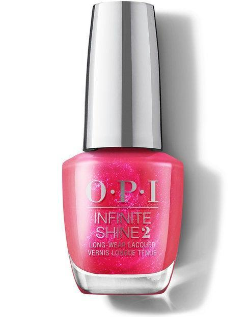 """<h3>Strawberry Waves Forever</h3><br>This <a href=""""https://www.refinery29.com/en-us/light-pink-nail-polish"""" rel=""""nofollow noopener"""" target=""""_blank"""" data-ylk=""""slk:sparkling pink"""" class=""""link rapid-noclick-resp"""">sparkling pink</a> shade pulls inspiration from the drink you want to be sipping at 5:30 p.m. every Friday from now through Labor Day: A strawberry margarita on the rocks. <br><br><strong>OPI</strong> Strawberry Waves Forever, $, available at <a href=""""https://go.skimresources.com/?id=30283X879131&url=https%3A%2F%2Fwww.ulta.com%2Fp%2Fmalibu-nail-lacquer-collection-pimprod2024449"""" rel=""""nofollow noopener"""" target=""""_blank"""" data-ylk=""""slk:Ulta"""" class=""""link rapid-noclick-resp"""">Ulta</a>"""
