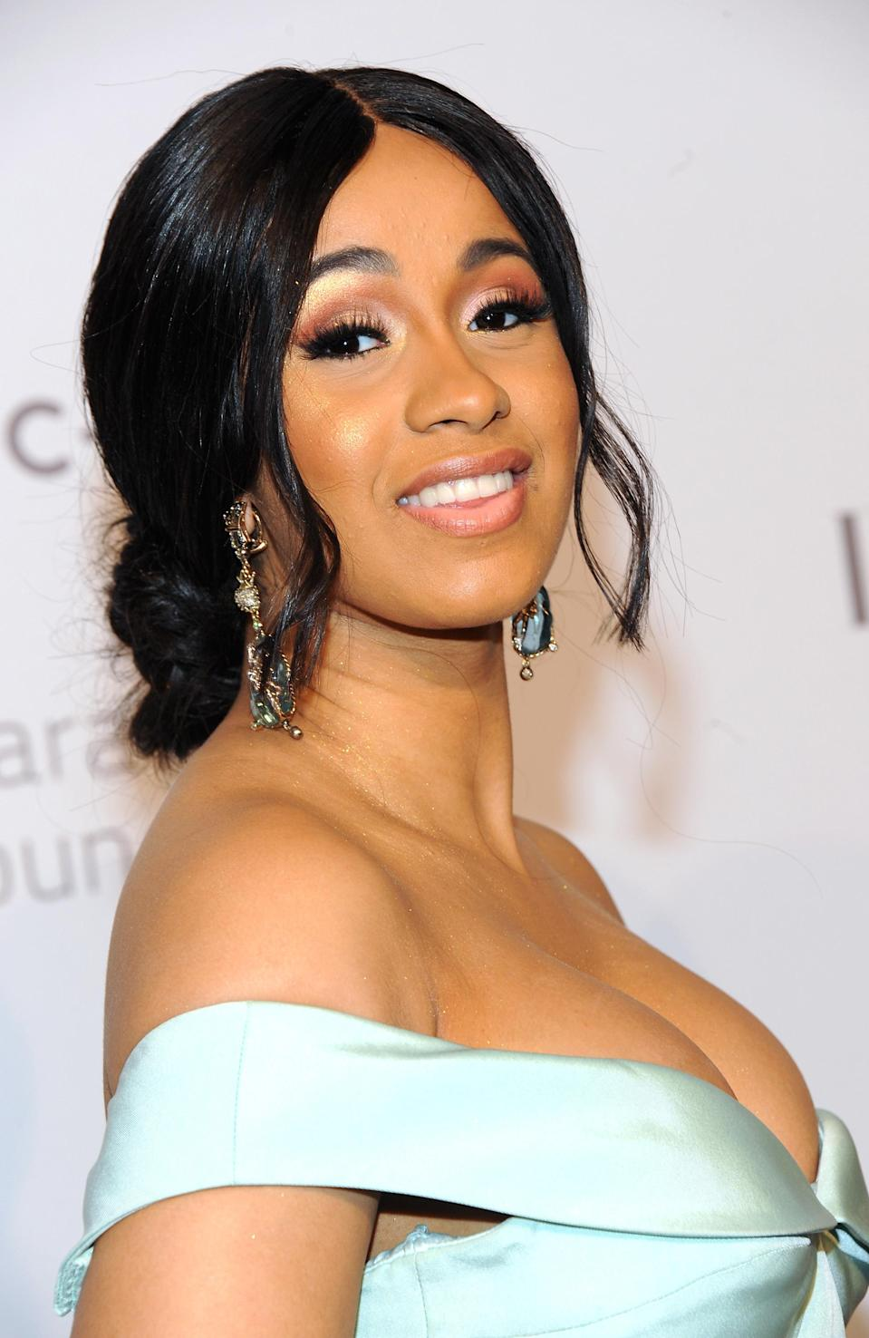 "<p>Calling <a href=""https://www.yahoo.com/lifestyle/tagged/cardi-b"" data-ylk=""slk:Cardi B"" class=""link rapid-noclick-resp"">Cardi B</a> colorful is an understatement. While the Dominican-Trinidadian rapper can quickly <a href=""https://www.yahoo.com/lifestyle/cardi-b-apos-17-best-204257350.html"" data-ylk=""slk:change her look;outcm:mb_qualified_link;_E:mb_qualified_link;ct:story;"" class=""link rapid-noclick-resp yahoo-link"">change her look</a> with a vibrant wig and matching ensemble, she's best known for keeping her fingertips in top shape. Decking out her <a href=""https://www.yahoo.com/lifestyle/cardi-b-nailed-new-mom-mani-heres-mothers-know-154221948.html"" data-ylk=""slk:lengthy tips;outcm:mb_qualified_link;_E:mb_qualified_link;ct:story;"" class=""link rapid-noclick-resp yahoo-link"">lengthy tips</a> in intricate designs and crystal embellishments, she's brought <a href=""https://www.yahoo.com/lifestyle/tagged/nail-art"" data-ylk=""slk:nail art"" class=""link rapid-noclick-resp"">nail art</a> back to the forefront, and it has since maintained center stage. (Photo: Getty Images) </p>"