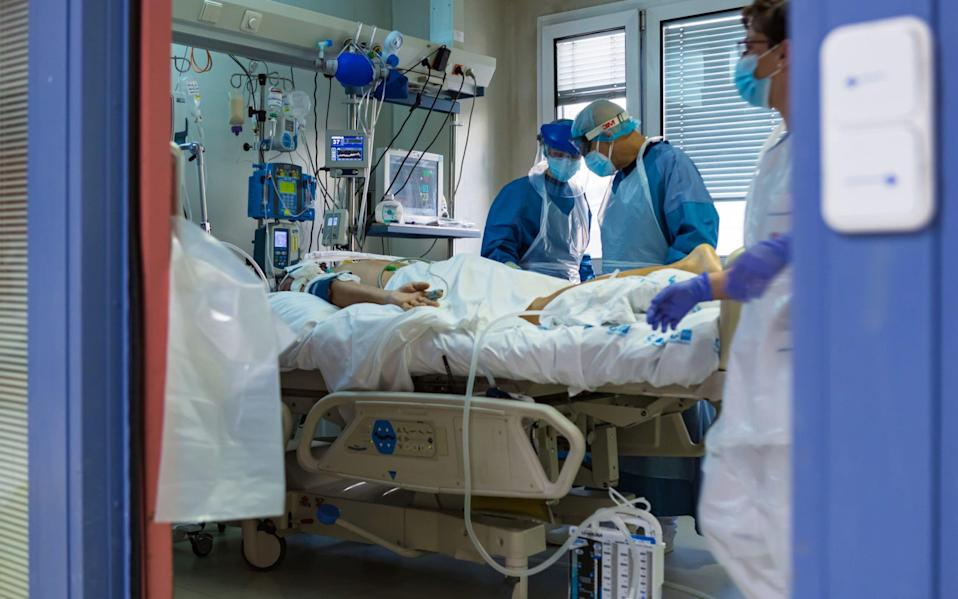 Patients with blood type A were more likely to end up on a ventilator - David Benito/Getty Images
