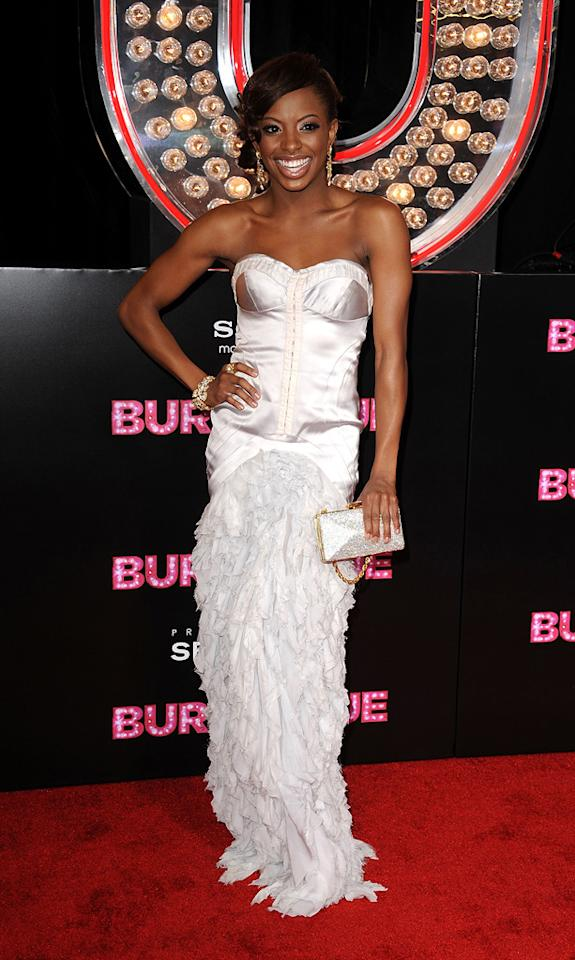 """<a href=""""http://movies.yahoo.com/movie/contributor/1810174319"""">Chelsea Traille</a> at the Los Angeles premiere of <a href=""""http://movies.yahoo.com/movie/1810125282/info"""">Burlesque</a> on November 15, 2010."""