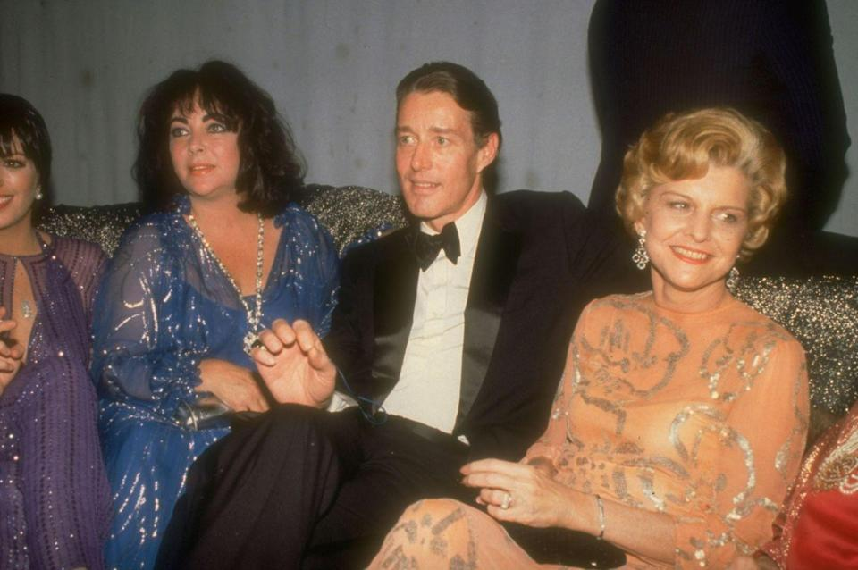 <p>At the same party, Halston socialized with Betty Ford, Elizabeth Taylor, and Liza Minnelli.</p>