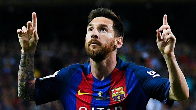 Having Lionel Messi on his side rather than preparing a team to face him is a relief for new Barcelona coach Ernesto Valverde.