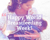 """<p>The Canadian PM posted this shot of his wife to show support for World Breastfeeding Week. <i>(Twitter/<a href=""""https://twitter.com/JustinTrudeau"""" rel=""""nofollow noopener"""" target=""""_blank"""" data-ylk=""""slk:@JustinTrudeau"""" class=""""link rapid-noclick-resp"""">@<b>JustinTrudeau</b></a>)</i></p>"""