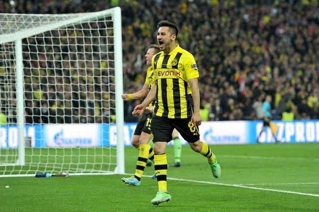 Gundogan scored but ended on the losing side in 2013