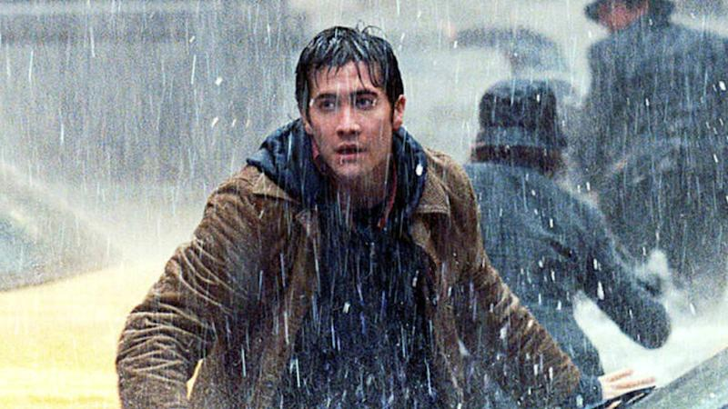 Jake Gyllenhaal in Roland Emmerich's environmental disaster movie 'The Day After Tomorrow' from 2004. (Credit: Fox)