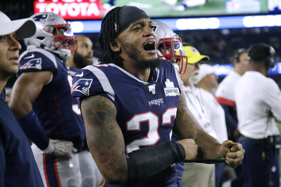 Safety Patrick Chung is one of eight Patriots players to opt out of the season. (AP Photo/Elise Amendola, File)