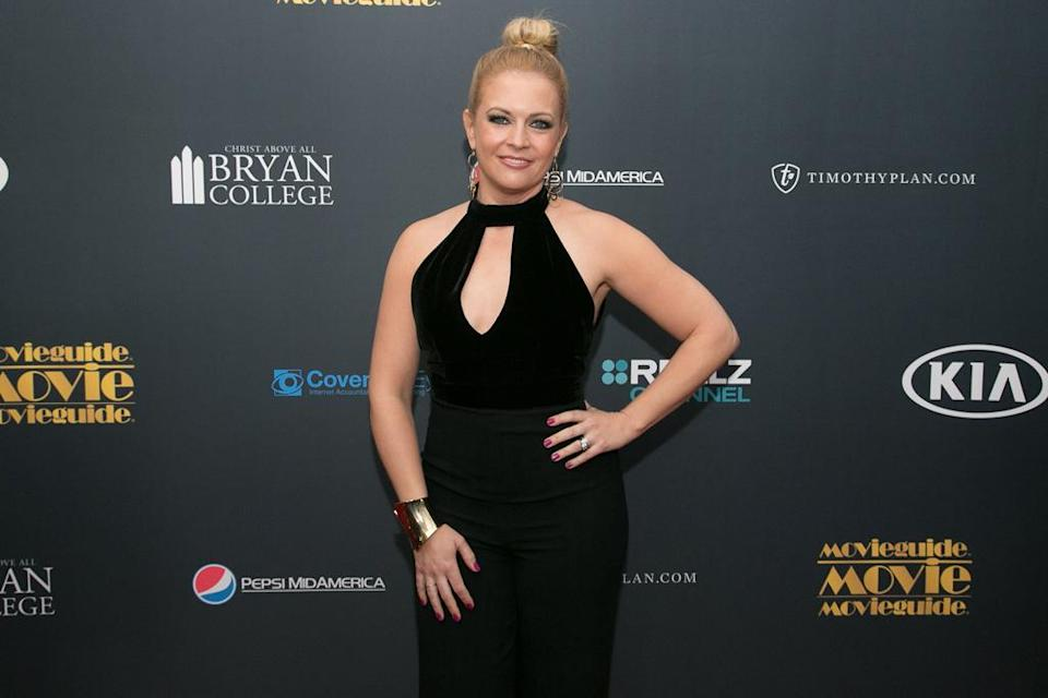 Melissa Joan Hart at the Hilton Universal City Hotel on Feb. 10, 2017, in Universal City, Calif. (Photo: Getty Images)