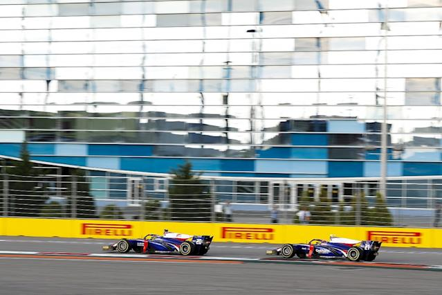 Renault junior gets second Trident seat for F2 finale