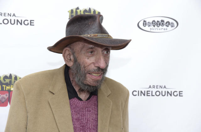 """HOLLYWOOD, CALIFORNIA - APRIL 19: Actor Sid Haig attends a screening of Indican Pictures' """"High On The Hog"""" at Arena Cinelounge on April 19, 2019 in Hollywood, California. (Photo by Michael Tullberg/Getty Images)"""