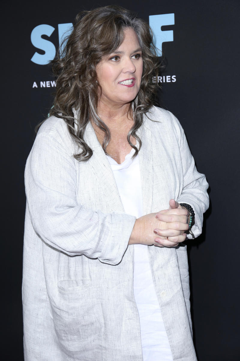 "Rosie O'Donnell arrives at the LA Premiere of ""SMILF"" at the Harmony Gold Theater on Monday, Oct. 9, 2017, in Los Angeles. (Photo by Willy Sanjuan/Invision/AP)"