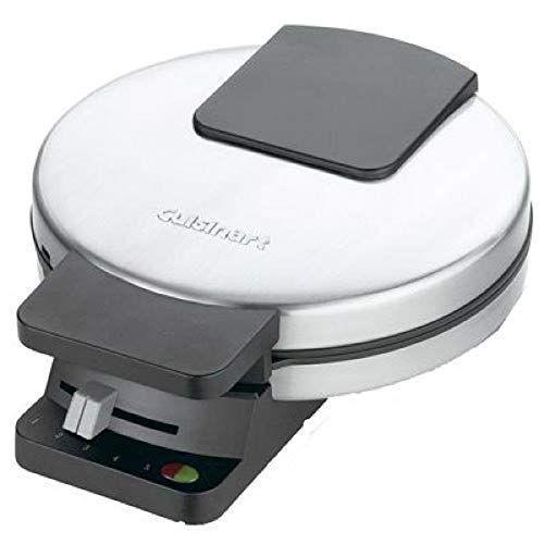 """<p><strong>Cuisinart</strong></p><p>amazon.com</p><p><strong>$29.92</strong></p><p><a href=""""https://www.amazon.com/dp/B00006JKZN?tag=syn-yahoo-20&ascsubtag=%5Bartid%7C10049.g.34965234%5Bsrc%7Cyahoo-us"""" rel=""""nofollow noopener"""" target=""""_blank"""" data-ylk=""""slk:Shop Now"""" class=""""link rapid-noclick-resp"""">Shop Now</a></p><p> Because the best waffles don't mean you have to break the bank for a fancy (or complicated) appliance. Easy to use, easy to clean. Cuisinart respects my beginner cooking talents.</p>"""