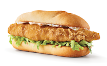 <p>This year, Buffalo Wild Wings is offering a beer-battered fish sandwich topped with shredded iceberg lettuce and tartar sauce that is served with a side of coleslaw. It will be available from February 17 through March 29 for dine-in or online ordering.</p>