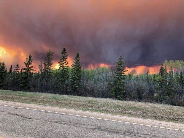 More than 4,000 people are affected by evacuation orders in northwestern Alberta. (Deb Stecyk/CBC News)
