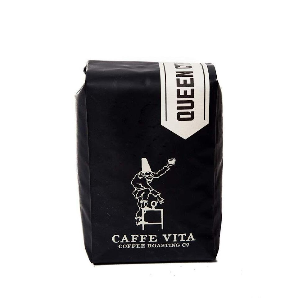 """<p><strong>Caffe Vita</strong></p><p>caffevita.com</p><p><strong>$10.00</strong></p><p><a href=""""https://www.caffevita.com/pages/jointheclub"""" rel=""""nofollow noopener"""" target=""""_blank"""" data-ylk=""""slk:Shop Now"""" class=""""link rapid-noclick-resp"""">Shop Now</a></p><p>Caffe Vita's Queen City blend is beloved in taste tests for a punch of dark cocoa notes in a brewed cup. But it's just one of 16 different blends that Caffe Vita offers in a customizable subscription model. And unlike other roasters, Caffe Vita also presents the blends in six different grind size variations, so to speak. These includes coarse grinds (<a href=""""https://www.goodhousekeeping.com/appliances/coffee-maker-reviews/a29554331/types-of-coffee-makers/"""" rel=""""nofollow noopener"""" target=""""_blank"""" data-ylk=""""slk:perfect for cold brews"""" class=""""link rapid-noclick-resp"""">perfect for cold brews</a>) and whole roasted beans for coffee lovers who love the freshest cup of Joe possible. Subscriptions start around $10. </p>"""
