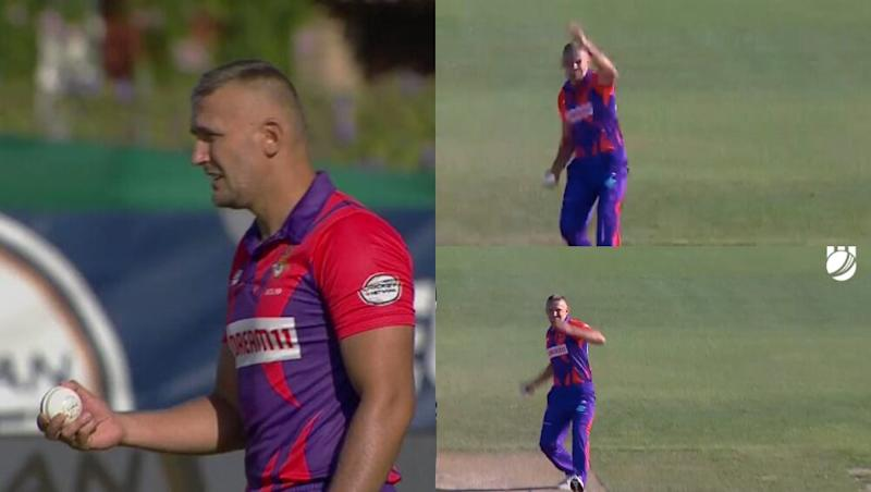 Pavel Florin's Hilarious Bowling Action in European T10 Cricket League 2019 is Going Viral, Watch Video