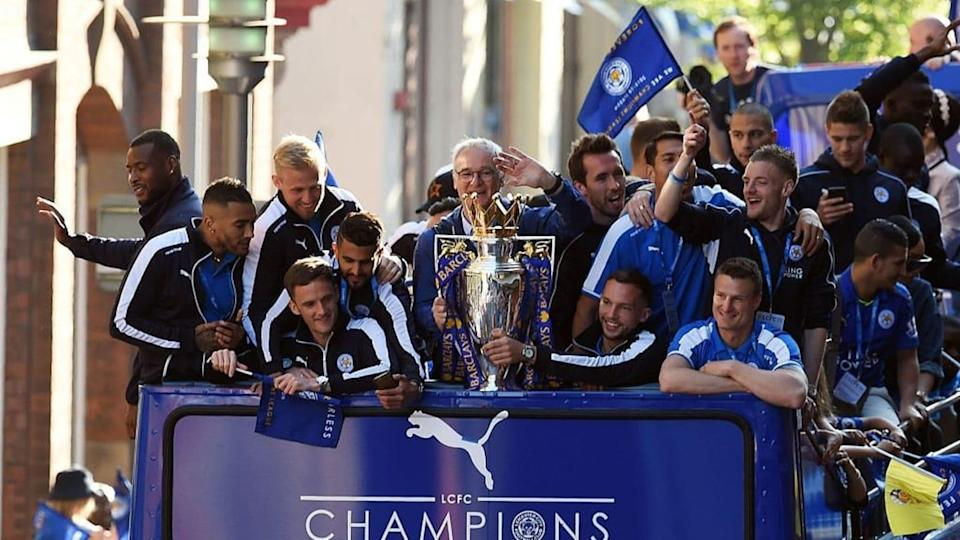 Il Leicester campione d'Inghilterra | PAUL ELLIS/Getty Images