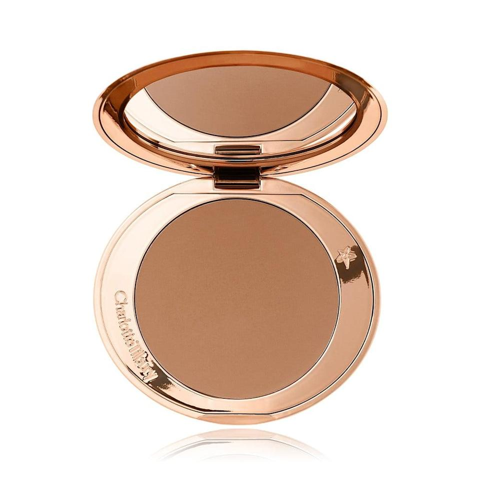 <p>Don't let the price of the <span>Charlotte Tilbury Airbrush Matte Bronzer</span> ($55) turn you off. This bronzer is so large it will last you months and when you finally do run out, you can purchase a refill.</p>