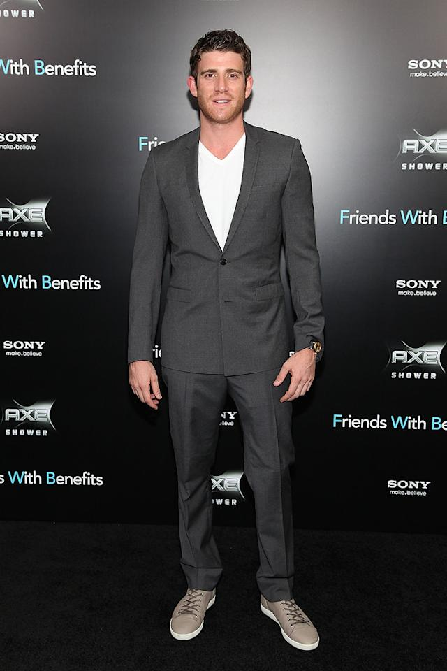 """<a href=""""http://movies.yahoo.com/movie/contributor/1800290259"""">Bryan Greenberg</a> at the New York City premiere of <a href=""""http://movies.yahoo.com/movie/1810167524/info"""">Friends With Benefits</a> on July 18, 2011."""