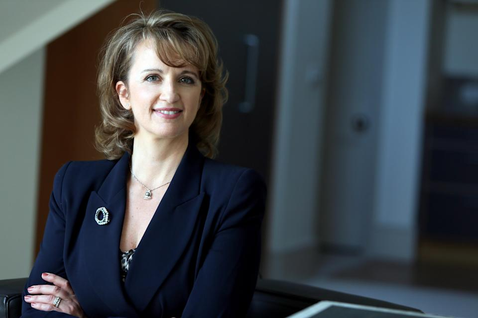 Fiona Hathorn wants board diversity targets to be more stretching (Women on Boards UK/PA)