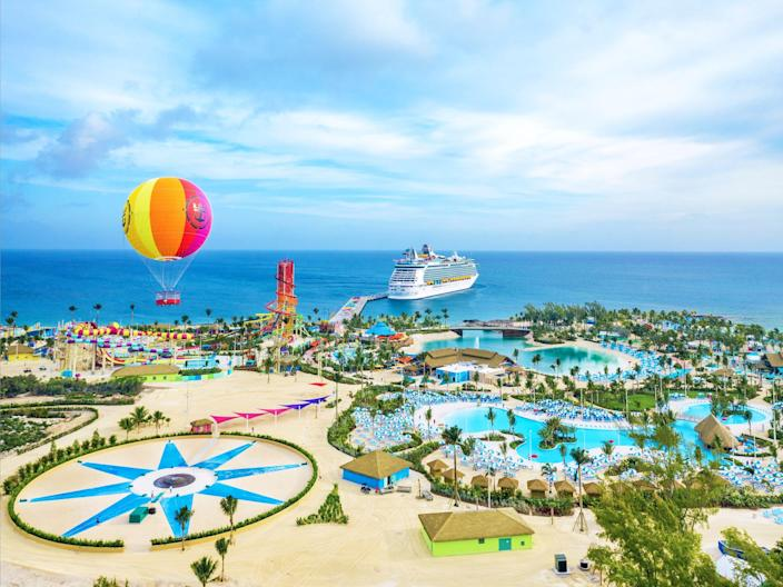 Royal Caribbean's Perfect Day at CocoCay island