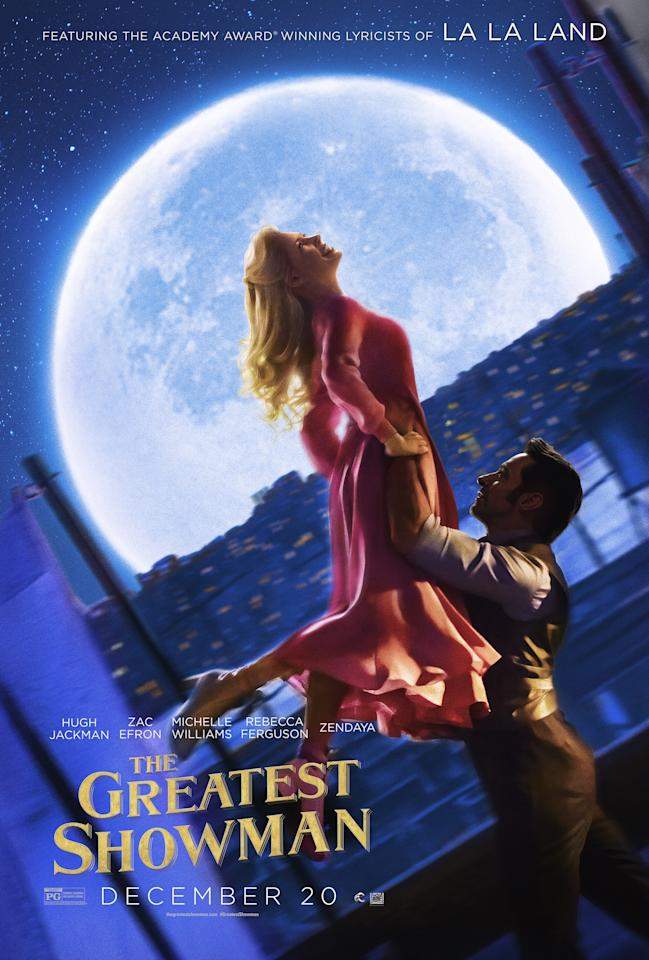 <p>Michelle Williams plays Charity, who leaves her wealthy family to marry the destitute Barnum.<br />(Image: 20th Century Fox) </p>