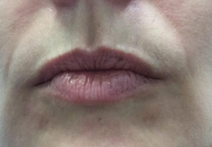 author's lips