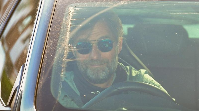 Klopp 'over the moon' as Liverpool boss returns for training in small groups