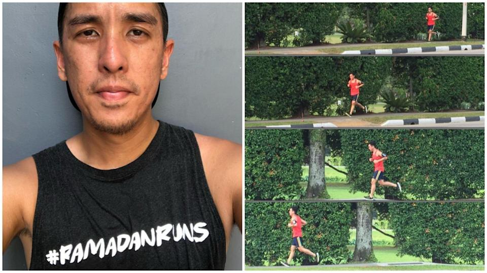 Iylia Khan started Ramadan Runs in 2014 - six installations later, he's raised over $10k in funds.