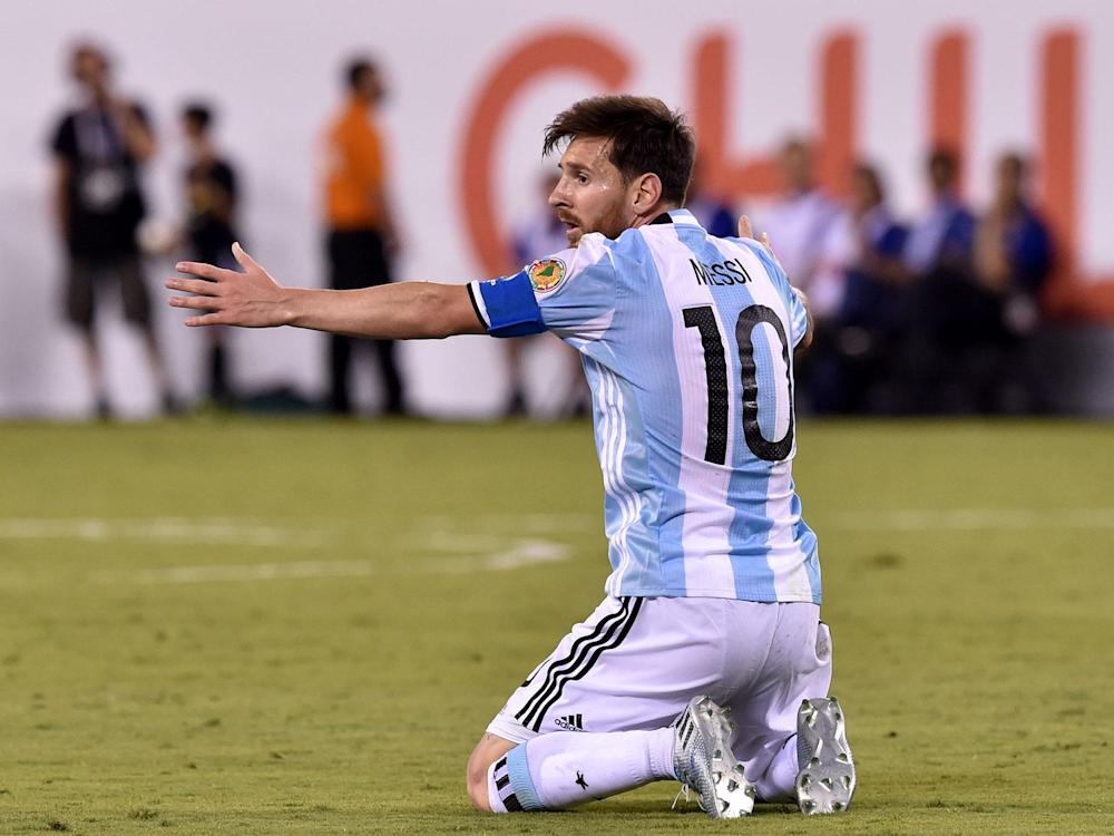 Lionel Messi and Argentina face Chile in desperate need of a win: Getty