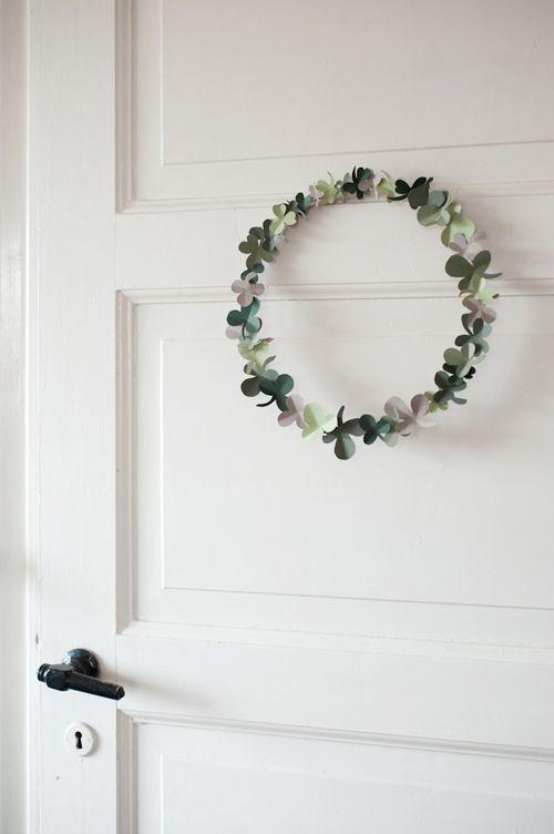 "<p>Delicate and dainty, this wreath is made from an embroidery hoop and paper shamrocks.</p><p><strong>Get the tutorial at <a href=""https://thehousethatlarsbuilt.com/2012/03/shamrock-wreath.html/"" rel=""nofollow noopener"" target=""_blank"" data-ylk=""slk:The House that Lars Built"" class=""link rapid-noclick-resp"">The House that Lars Built</a>.</strong></p><p><a class=""link rapid-noclick-resp"" href=""https://www.amazon.com/Embroidery-Hoops/b?ie=UTF8&node=262621011&tag=syn-yahoo-20&ascsubtag=%5Bartid%7C10050.g.35162910%5Bsrc%7Cyahoo-us"" rel=""nofollow noopener"" target=""_blank"" data-ylk=""slk:SHOP EMBROIDERY HOOPS"">SHOP EMBROIDERY HOOPS</a><br></p>"