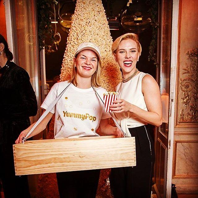 """<p>A particularly left field celeb business venture, Marvel badass and Sexiest Woman Alive Scarlett Johansson opened up a popcorn shop, in Paris no less. A city not necessarily known for loving the US snack. The shop had Americana-inspired interiors  and offered flavours like Vermont maple and truffle parmesan. Ooh la la.  </p><p><a href=""""https://www.instagram.com/p/BOxWM5pDefZ/"""">See the original post on Instagram</a></p>"""