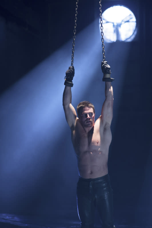 """""""Sacrifice"""" -- Stephen Amell as Oliver Queen"""