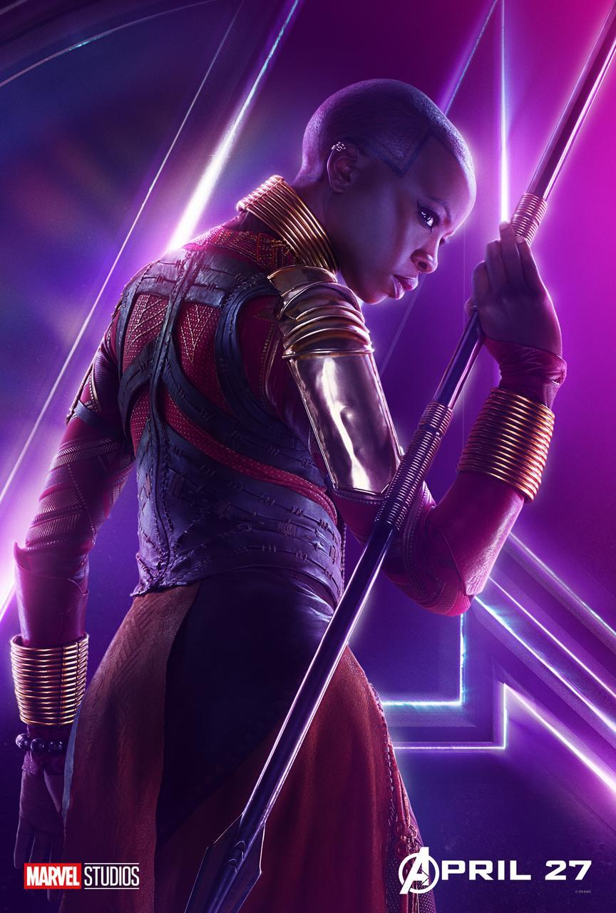<p>Danai Gurira plays the leader of the Panther-protecting Dora Milaje warriors. (Photo: Marvel Studios) </p>