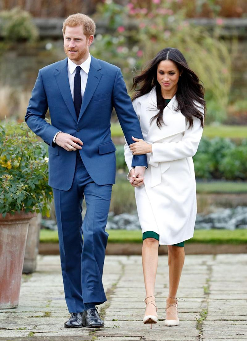The upcoming royal wedding has of course ramped up interest in Markle's wardrobe. Source: Getty