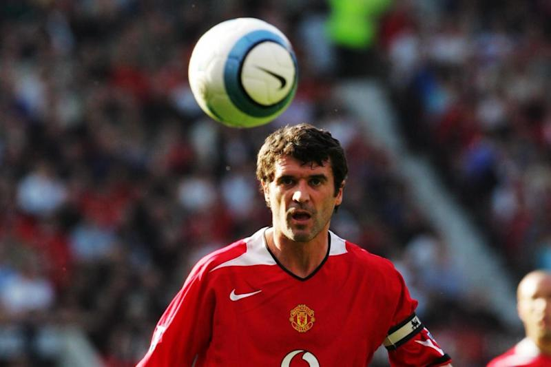 Roy Keane during his Manchester United playing days Photo: Man Utd via Getty Images