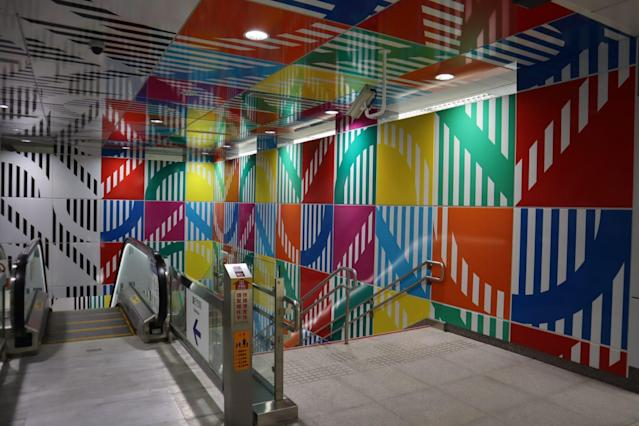 <p>Banqiao Y15 MRT Station is the Jewel of the new Circular Line. </p>