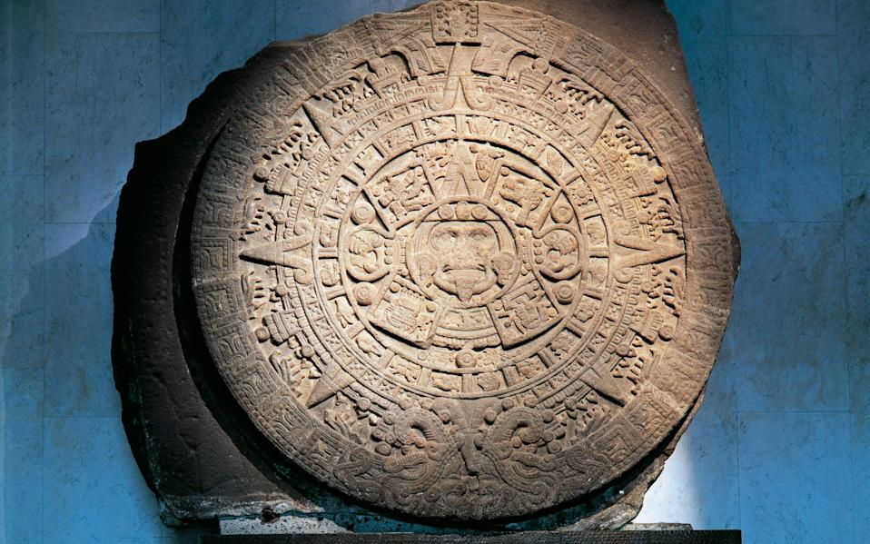 The Aztec Calendar, known as Stone of the Sun - De Agostini Editorial