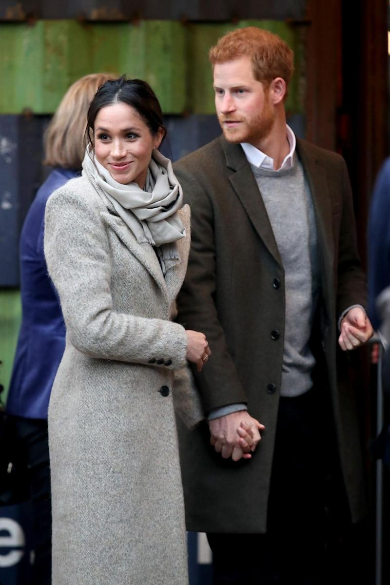 Prince Harry and Meghan Markle are due to marry on May 19. Photo: Getty Images