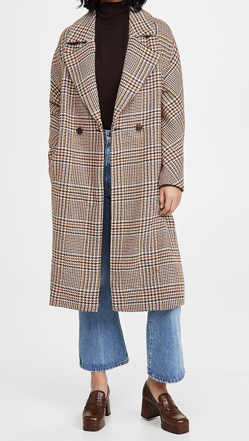 <p>This <span>Cupcakes and Cashmere Patsy Coat</span> ($190) is perfect for winter.</p>