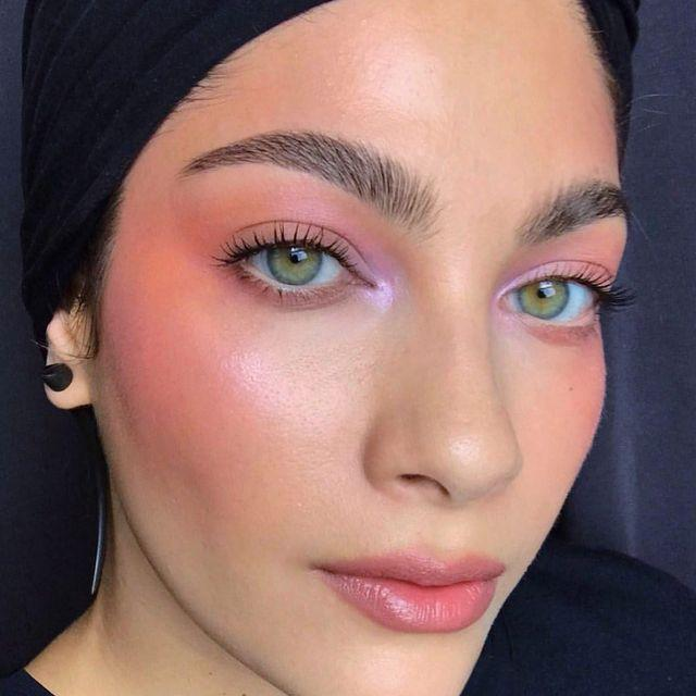 """<p>Need to wake up your face? Try out this spring 2021 makeup trend. Blend a light <a href=""""https://go.redirectingat.com?id=74968X1596630&url=https%3A%2F%2Fwww.sephora.com%2Fproduct%2Fblush-trio-P420162%3FskuId%3D1942051&sref=https%3A%2F%2Fwww.cosmopolitan.com%2Fstyle-beauty%2Fbeauty%2Fg35217353%2Fbest-spring-2021-makeup-trends%2F"""" rel=""""nofollow noopener"""" target=""""_blank"""" data-ylk=""""slk:pink blush"""" class=""""link rapid-noclick-resp"""">pink blush</a> on your cheeks, temples, and underneath your brow bones to <strong>give yourself a pretty allover flush.</strong><br></p><p><a href=""""https://www.instagram.com/p/BxQKEucgoEH/"""" rel=""""nofollow noopener"""" target=""""_blank"""" data-ylk=""""slk:See the original post on Instagram"""" class=""""link rapid-noclick-resp"""">See the original post on Instagram</a></p>"""